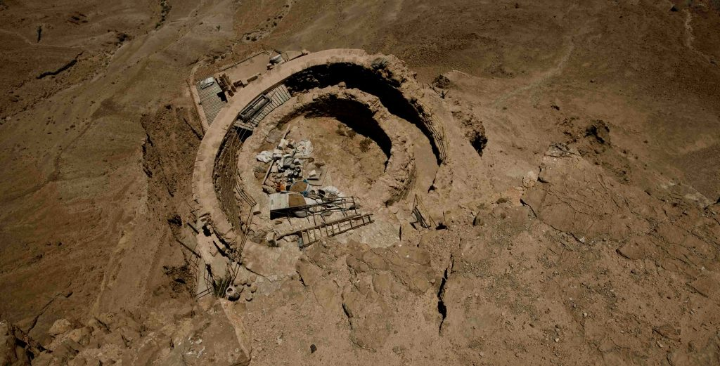 Masada negev israel biblical geographic