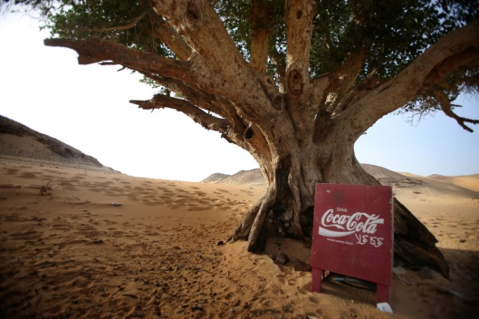 Coke in the lybian desert